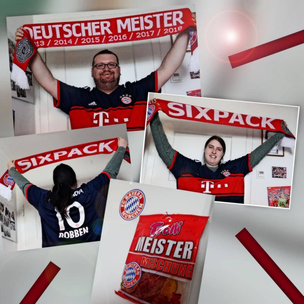 DER FC BAYERN IST NEUER DEUTSCHER MEISTER 2018!